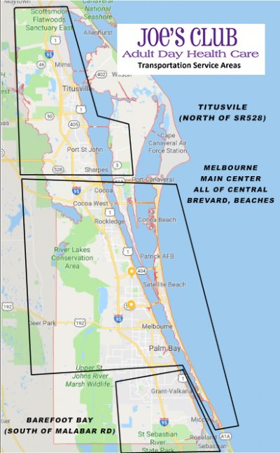 Service Map. Click To Enlarge.