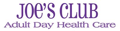 Joe's Club Adult Day Care Logo